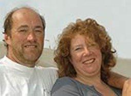 Peter van Weelderen en Birgit Broekhuyse