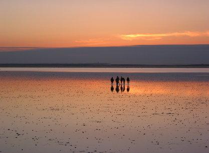 Mon Desir mensen_wad_zonsondergang.JPG